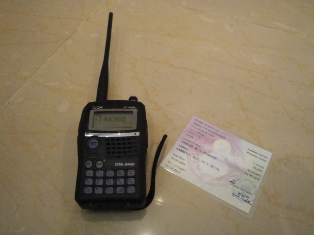 icom IC-E91 + License